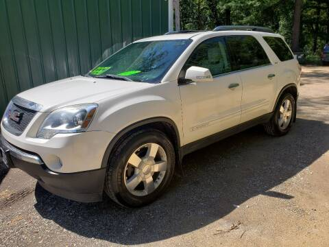 2008 GMC Acadia for sale at Northwoods Auto & Truck Sales in Machesney Park IL