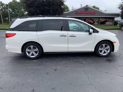 2019 Honda Odyssey for sale at Hawkins Motors Sales in Hillsdale MI