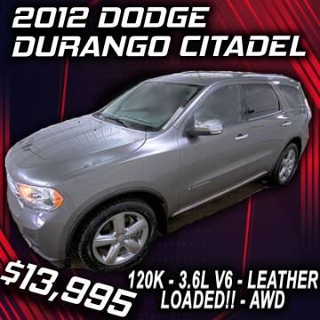 2012 Dodge Durango for sale at Badlands Brokers in Rapid City SD