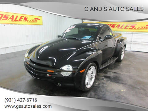 2003 Chevrolet SSR for sale at G and S Auto Sales in Ardmore TN