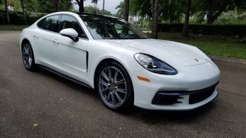 2018 Porsche Panamera for sale at DELRAY AUTO MALL in Delray Beach FL