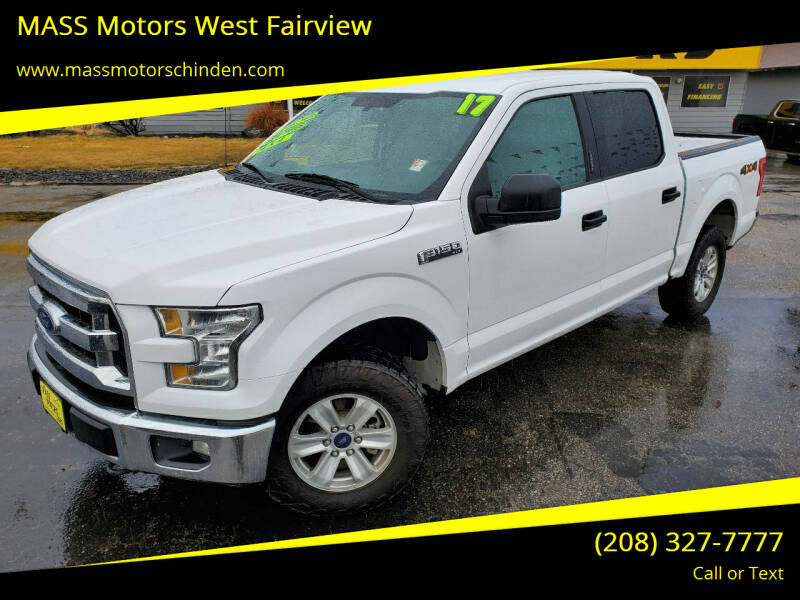 2017 Ford F-150 for sale at MASS Motors West Fairview in Boise ID