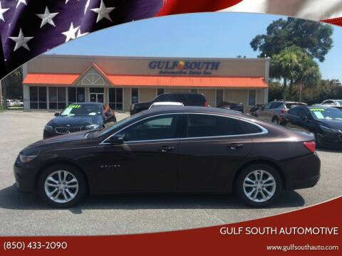 2016 Chevrolet Malibu for sale at Gulf South Automotive in Pensacola FL