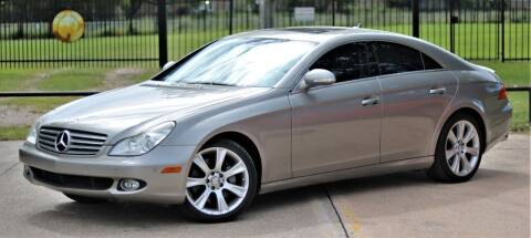 2008 Mercedes-Benz CLS for sale at Texas Auto Corporation in Houston TX