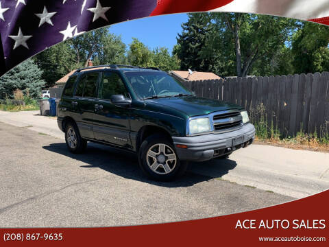 2004 Chevrolet Tracker for sale at Ace Auto Sales in Boise ID