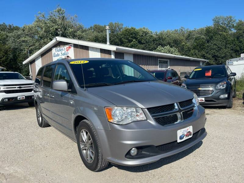 2014 Dodge Grand Caravan for sale at Victor's Auto Sales Inc. in Indianola IA