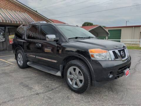 2012 Nissan Armada for sale at Towell & Sons Auto Sales in Manila AR