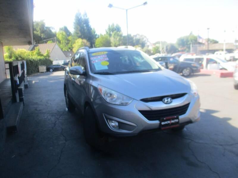 2011 Hyundai Tucson for sale at Quick Auto Sales in Modesto CA