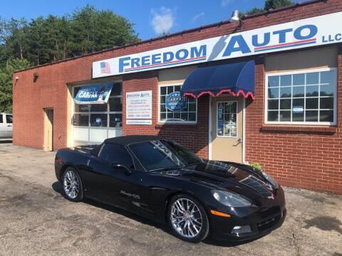 2008 Chevrolet Corvette for sale at FREEDOM AUTO LLC in Wilkesboro NC