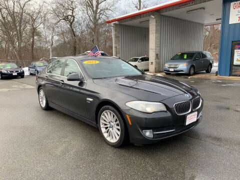 2011 BMW 5 Series for sale at Gia Auto Sales in East Wareham MA