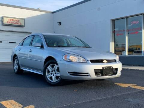 2010 Chevrolet Impala for sale at HIGHLINE AUTO LLC in Kenosha WI