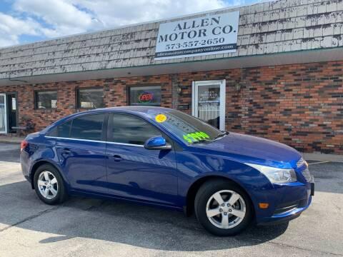 2012 Chevrolet Cruze for sale at Allen Motor Company in Eldon MO