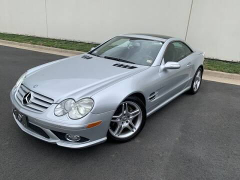 2007 Mercedes-Benz SL-Class for sale at SEIZED LUXURY VEHICLES LLC in Sterling VA