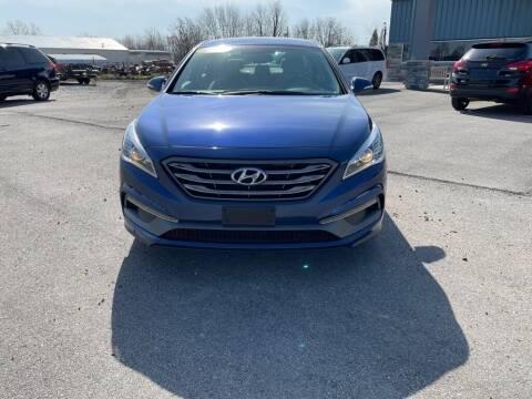 2015 Hyundai Sonata for sale at Wildfire Motors in Richmond IN