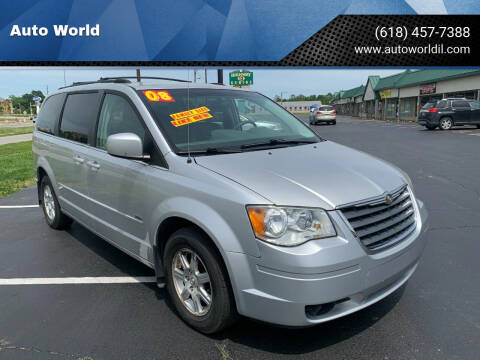 2008 Chrysler Town and Country for sale at Auto World in Carbondale IL