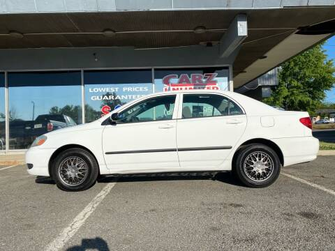 2006 Toyota Corolla for sale at Carz Unlimited in Richmond VA