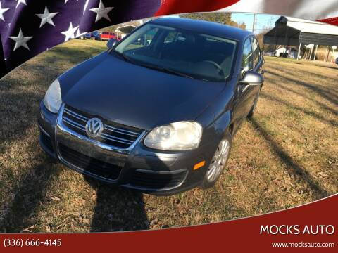 2010 Volkswagen Jetta for sale at Mocks Auto in Kernersville NC