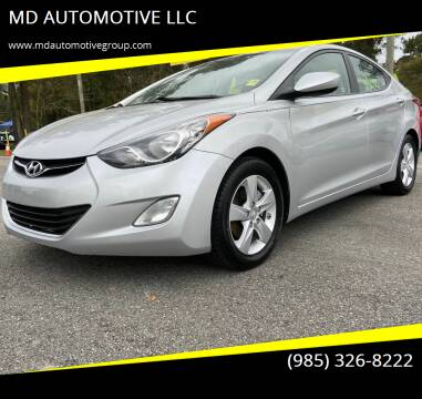 2012 Hyundai Elantra for sale at MD AUTOMOTIVE LLC in Slidell LA