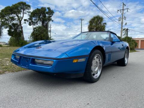1990 Chevrolet Corvette for sale at American Classics Autotrader LLC in Pompano Beach FL