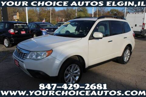2011 Subaru Forester for sale at Your Choice Autos - Elgin in Elgin IL