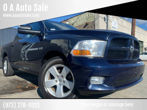 2012 RAM Ram Pickup 1500 for sale at O A Auto Sale in Paterson NJ