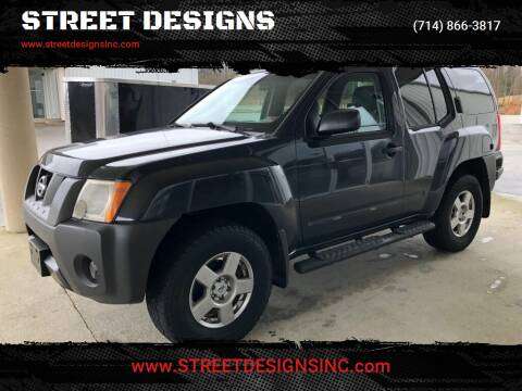 2008 Nissan Xterra for sale at STREET DESIGNS in Upland CA