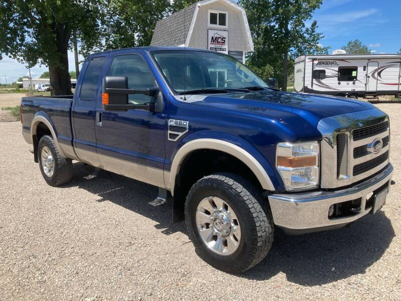 2008 Ford F-250 Super Duty for sale at MINNESOTA CAR SALES in Starbuck MN
