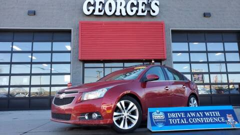 2011 Chevrolet Cruze for sale at George's Used Cars - Pennsylvania & Allen in Brownstown MI