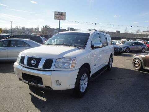 2007 Nissan Armada for sale at A&S 1 Imports LLC in Cincinnati OH