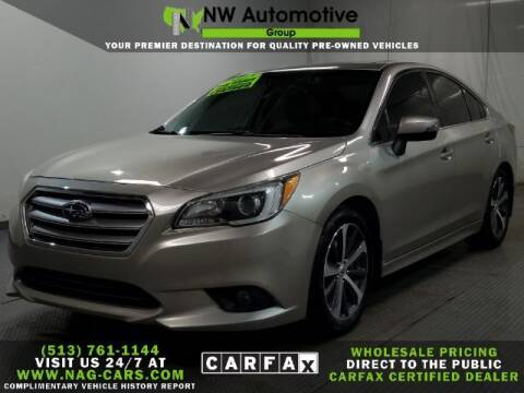 2017 Subaru Legacy for sale at NW Automotive Group in Cincinnati OH