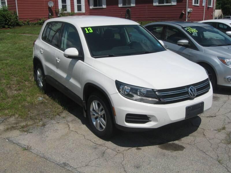 2013 Volkswagen Tiguan for sale at Joks Auto Sales & SVC INC in Hudson NH