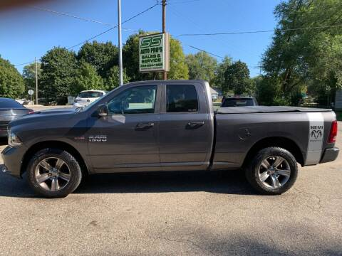 2014 RAM Ram Pickup 1500 for sale at SS AUTO PRO'S in Otsego MI