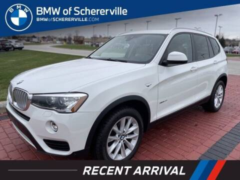 2016 BMW X3 for sale at BMW of Schererville in Shererville IN