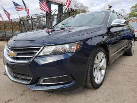 2015 Chevrolet Impala for sale at Gus's Used Auto Sales in Detroit MI