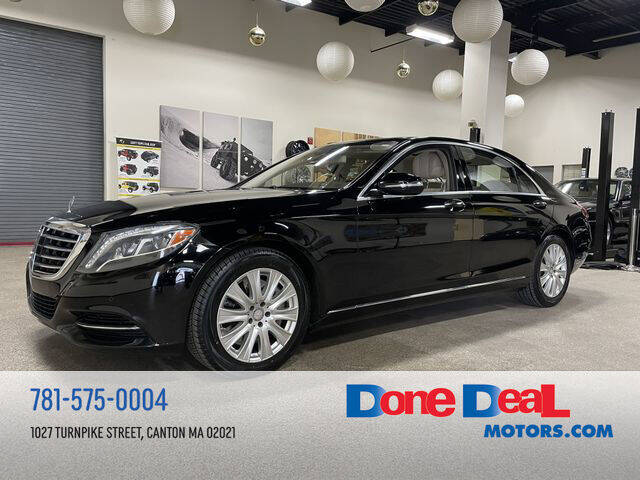 2014 Mercedes-Benz S-Class for sale at DONE DEAL MOTORS in Canton MA
