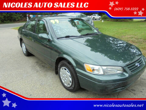 1999 Toyota Camry for sale at NICOLES AUTO SALES LLC in Cream Ridge NJ
