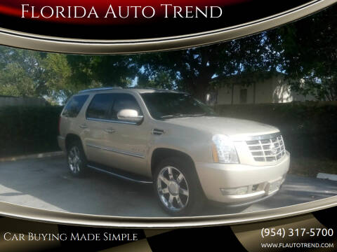 2010 Cadillac Escalade for sale at Florida Auto Trend in Plantation FL