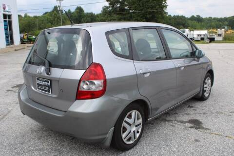 2007 Honda Fit for sale at UpCountry Motors in Taylors SC