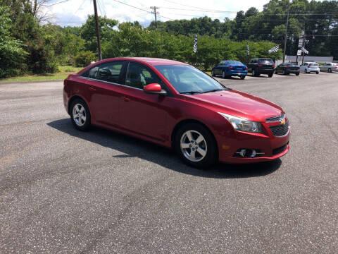 2012 Chevrolet Cruze for sale at Dorsey Auto Sales in Anderson SC