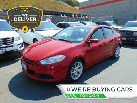2013 Dodge Dart for sale at So Cal Performance in San Diego CA