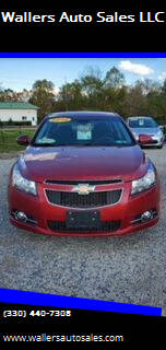 2012 Chevrolet Cruze for sale at Wallers Auto Sales LLC in Dover OH