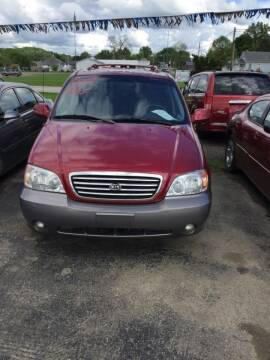 2003 Kia Sedona for sale at Stewart's Motor Sales in Cambridge/Byesville OH