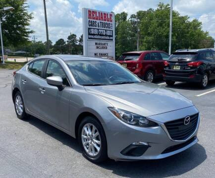 2016 Mazda MAZDA3 for sale at Reliable Cars & Trucks LLC in Raleigh NC