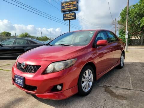 2010 Toyota Corolla for sale at AI MOTORS LLC in Killeen TX