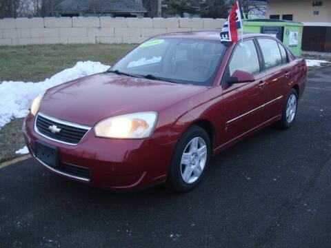 2006 Chevrolet Malibu for sale at MOTORAMA INC in Detroit MI