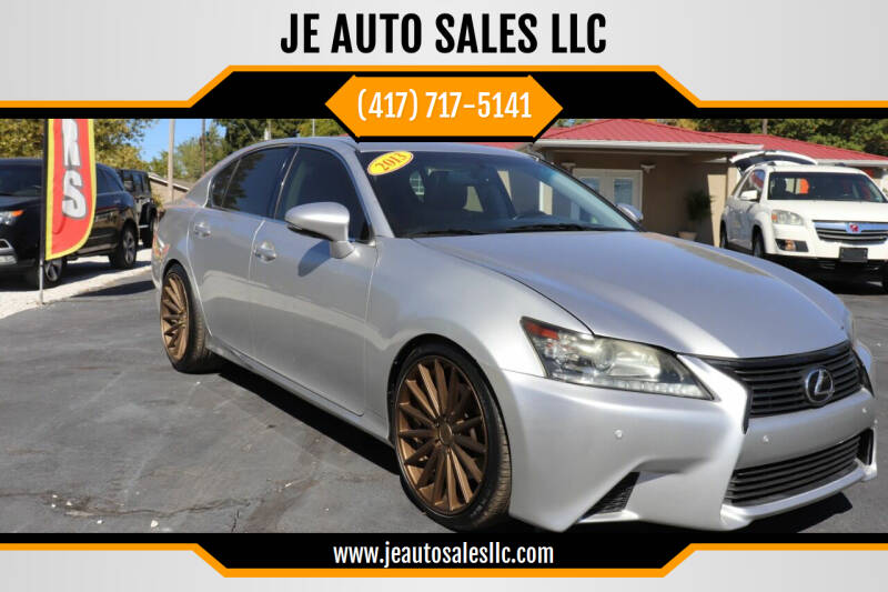 2013 Lexus GS 350 for sale at JE AUTO SALES LLC in Webb City MO