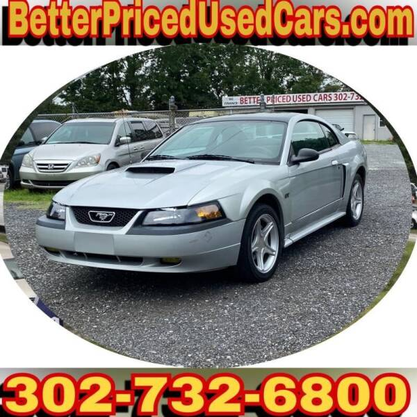 2001 Ford Mustang for sale at Better Priced Used Cars in Frankford DE