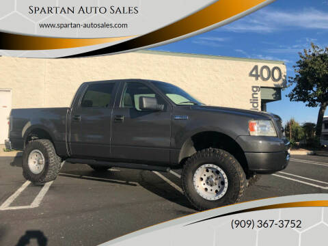 2006 Ford F-150 for sale at Spartan Auto Sales in Upland CA