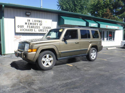 2008 Jeep Commander for sale at GRESTY AUTO SALES in Loves Park IL