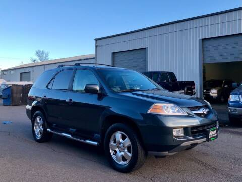 2004 Acura MDX for sale at DASH AUTO SALES LLC in Salem OR